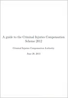 A Guide to the Criminal Injuries Compensation Authority (CICA) Scheme