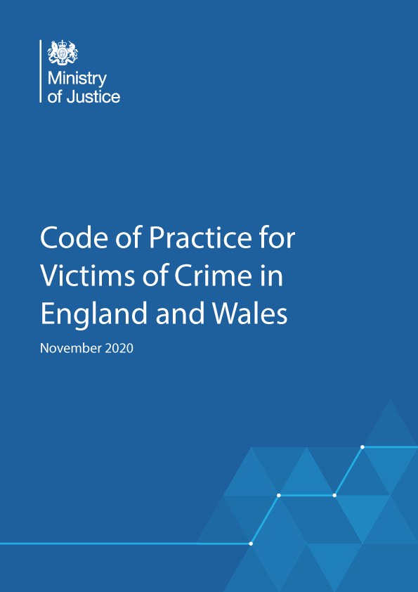 Code of Practice for Victims of Crime